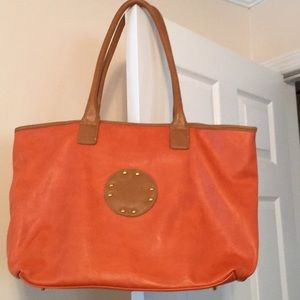 Handbags - Large Orange Tote